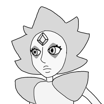 What I Think White Diamond Might Look Like by Darklight175