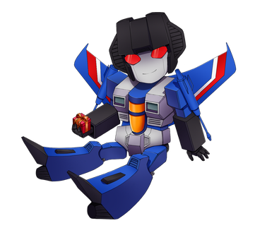 Thundercracker chibi by Kuriko-san