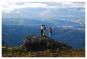 ..at the top of the world.. by Varcolaci
