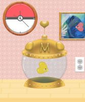 Pokemon Luvdisc Master Ball Aquarium Bowl by DaggerTribal