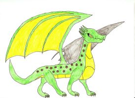 Leaf the Nature Dragoness by DragonofDarkness1992