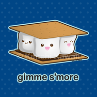 Gimme S'more! by kimchikawaii