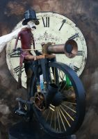 Steampowered Pennyfarthing 2 by impsandthings