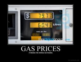 Gas Price Demotivator by PurplePhoneixStar