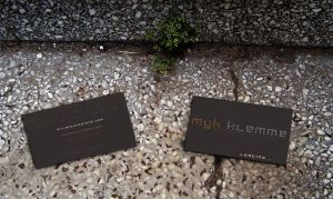 Business Card- Myk Klemme by ohkanon