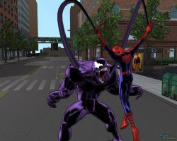 ULTIMATE SPIDER-MAN CAPTURE by thejigsawrlm