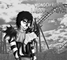 Monochrome Laughing Jack by ShadowsNeko