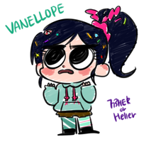 Vanellope by 773HER
