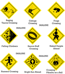 Road Signs by Imalune