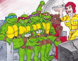 Couch Gag Turtles by Crash2014