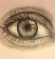 Eye sketch by Azurine550