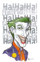 The Joker by Pencilbags