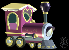 Ponyville/Friendship Express 3D by AnScathMarcach