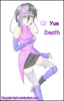 Qi Yue Death__KidxCrona Fanchild by khryztal-dark