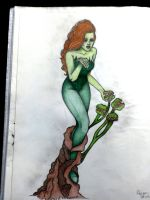 Comic Character Series VI: Poison Ivy by ExofiaC