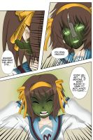 Haruhi Suzumiya becoming The Mask - 02 by MaskedWander