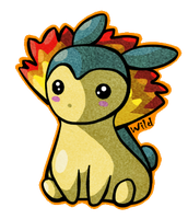 Typhlosion chibi by WildInParadise
