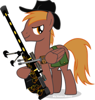 Calamity and Spitfires thunder by Vector-Brony
