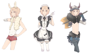 Lleu [outfits] by Kialun