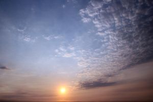 Lincoln City Sunset Sky by Cynnalia-Stock