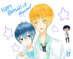 HAPPY BIRTHDAY MENTO by komairu