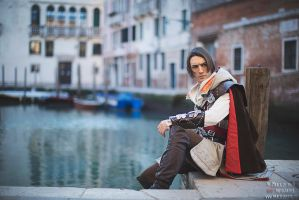 Assassin's Creed - Ezio Auditore Cosplay Venezia by LeonChiroCosplayArt