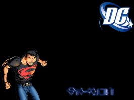 Superboy Wallpaper by ZiggoTheAlien