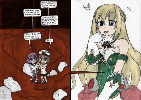 Tinies In Vert's Stomach (color) by TayAyase