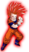 Super Saiyan God Teen Gohan by DigitBrony
