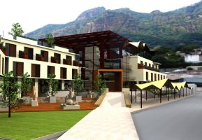 Hotel Tepoz 1 by santiago-simple