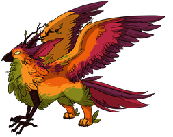 Egg #5 - Guardian of the Forest by Kingfisher-Gryphon