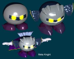 MetaKnight Model by TwinSabreInferno