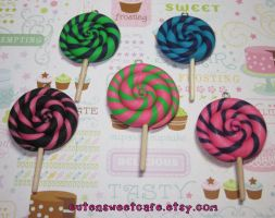 Swirly Scented Lollipops by pinknikki