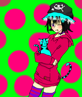 My old character before I took Ciel as my characta by CUUpcakESS