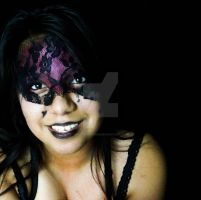 Lust - lace makeup by Kkittydesigns