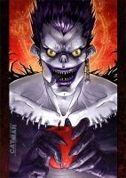 Death Note: Ryuk by x-catman