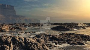 Rocky Shore by Lance66