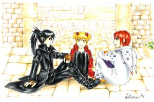 Mabinogi: Friends by SterlingRaven