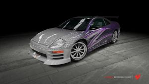 Mitsubishi Eclipse GTS - 2 Fast 2 Furious by OutcastOne