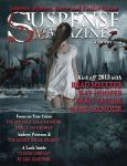 Suspense Magazine - cover and article by LuneBleu