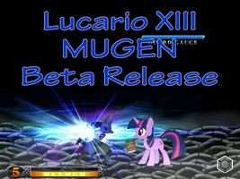 Lucario XIII Beta Release by ralord