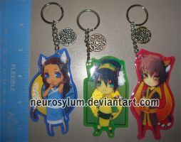 ATLA Keychains - Tiger Year by Neurosylum