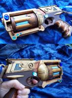 Phoenix Fire Hand Cannon by savagedryad