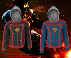 Star-Lord (Guardians of the Galaxy) Hoodies by prathik