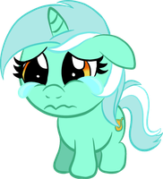 Sad Little Lyra by InfernalDalek