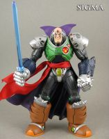 Megaman X Sigma action figure by Jin-Saotome