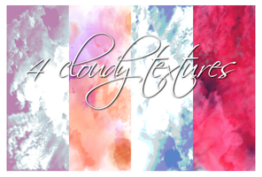 Large cloudy textures by freaksoldier