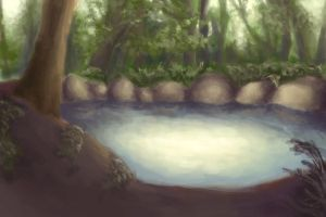 forest spring by teires