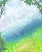 Background Practice #1 by xPsyren