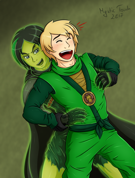 Disastrous Green Ninja weakness by mystic-touch